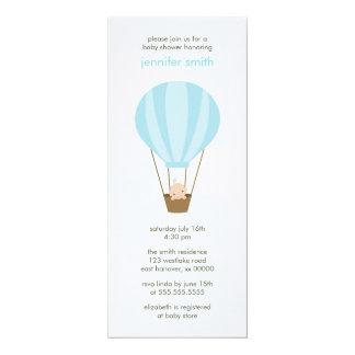 Baby in a Balloon 10 Cm X 24 Cm Invitation Card