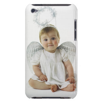 Baby in an angel costume iPod touch cover