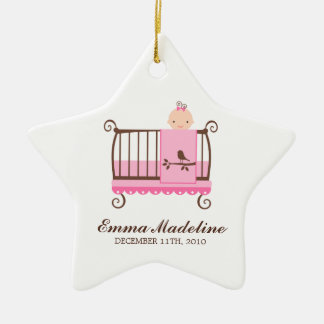 Baby in Crib Ornament