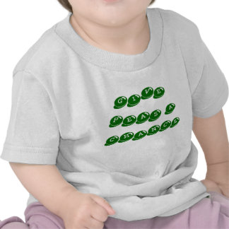 baby infant tee shirt give peas a chance