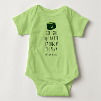 Baby Inuzuka. That's how we roll. Baby Bodysuit