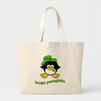 Baby Irish Penguin Canvas Bag