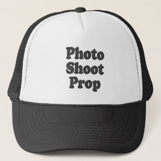 Baby is a Photo Shoot Prop Trucker Hat