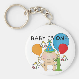 Baby is One Tshirts and Gifts Key Chains