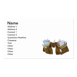 Baby Items Filling Leather Tool Belt Pack Of Standard Business Cards