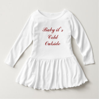 Baby it's Cold Outside Christmas Dress