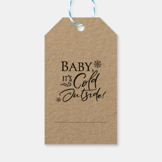 Baby it's Cold Outside Gift Tags