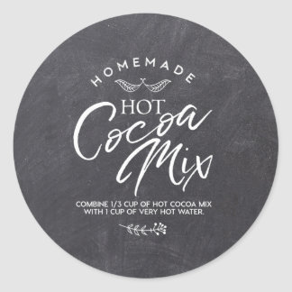 Baby it's Cold Outside - Hot Cocoa Mix Labels Round Sticker