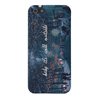 baby its cold outside iPhone 5/5S cover