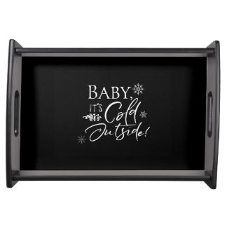 Baby it's Cold Outside Tray