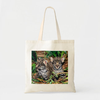 Baby Jaguar Cubs Tote Bag