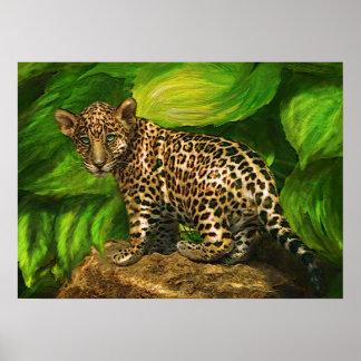 baby jaguar poster