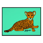 Baby Jaguar Print