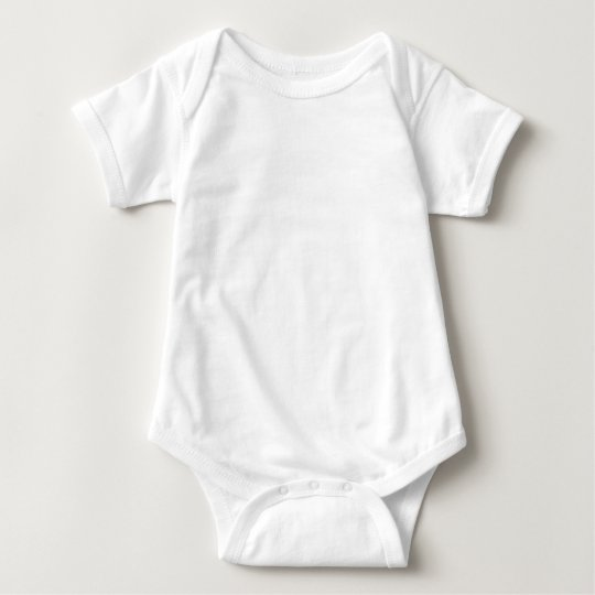 Baby Jersey Bodysuit, White
