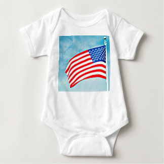"Baby Jersey Bodysuit ""America Made"""