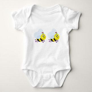 Baby Jersey Bodysuit Bee