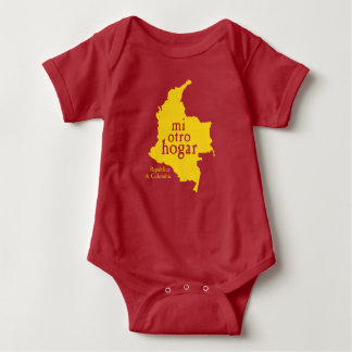 Baby Jersey Bodysuit COLOMBIA