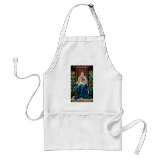 Baby Jesus and Mary on Christmas Aprons