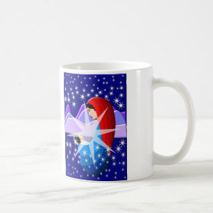d3cac12e78d1 Baby Jesus and Virgin Mary in Starlight Coffee Mug