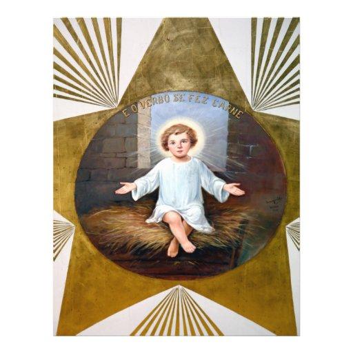 Baby Jesus decorative artwork Flyer