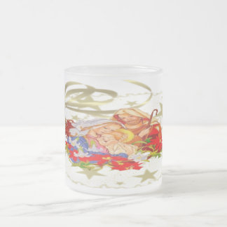 Baby Jesus - Frosted Glass Mug