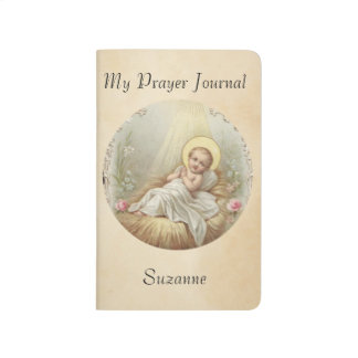 Baby Jesus in Manger Journal