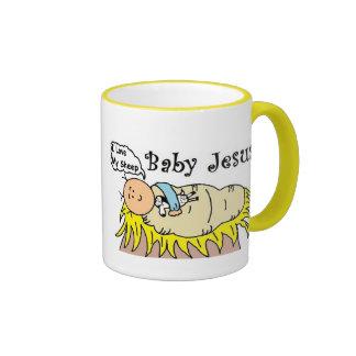 Baby Jesus In Manger Mug