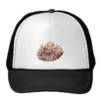 Baby Jesus Manger Nativity Mesh Hat