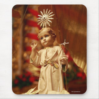 Baby Jesus Mouse Mat