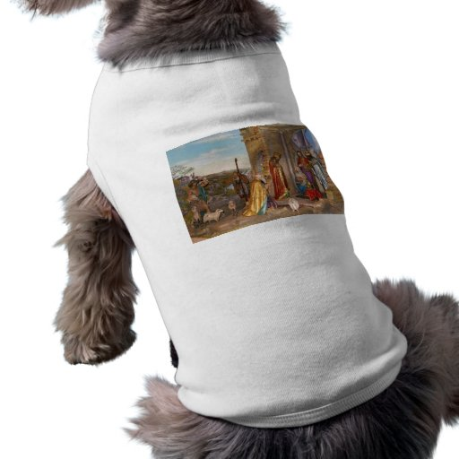 Baby Jesus of Nazareth Born in Bethlehem Sleeveless Dog Shirt