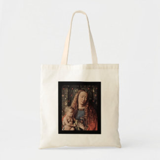 Baby Jesus Touching Dove Budget Tote Bag