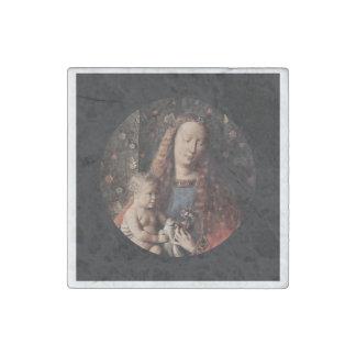 Baby Jesus Touching Dove Stone Magnet