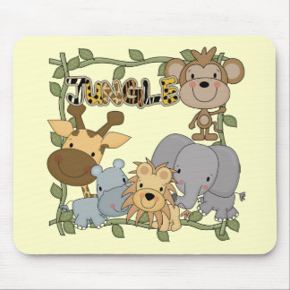 Baby Jungle Animals Tshirts and Gifts Mousepads