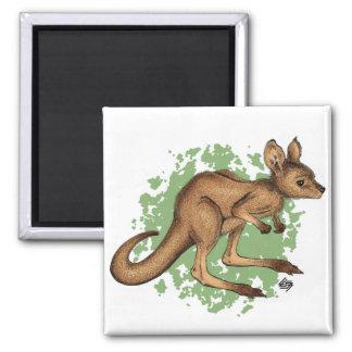 Baby Kangaroo Magnet