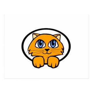Baby Kitten Cartoon Postcard