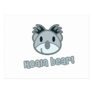 Baby Koala Bear Cartoon Postcard