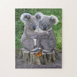 Baby Koala Bear Huggies Jigsaw Puzzle