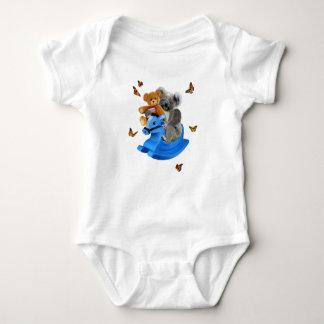 BABY KOALA BEAR ROCKS BABY BODYSUIT