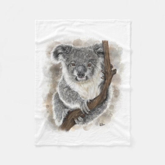 Baby Koala Fleece Blanket