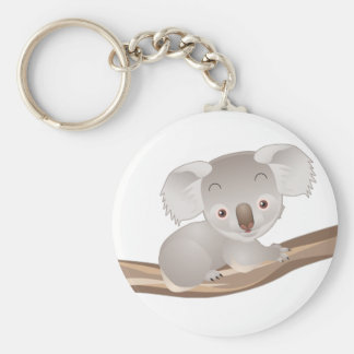 Baby Koala Key Ring