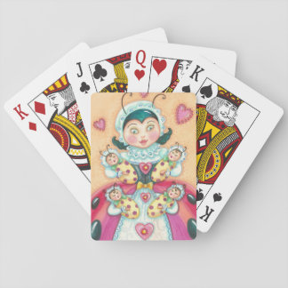 Baby Ladybugs Mom PLAYING CARDS Poker