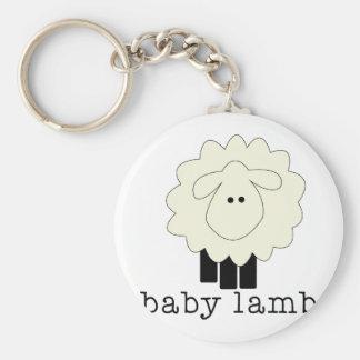 Baby Lamb Key Chain