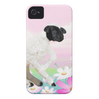 Baby Lambs first steps iPhone 4 Case-Mate Case