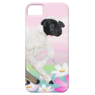 Baby Lambs first steps iPhone 5 Covers