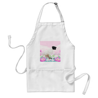 Baby Lambs first steps Standard Apron