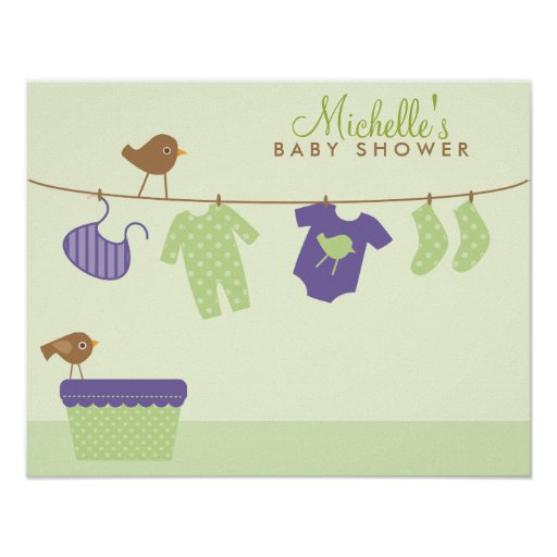Uk Baby Shower Co: Baby Laundry Baby Shower Welcome Sign