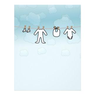 Baby Laundry - Boy 21.5 Cm X 28 Cm Flyer