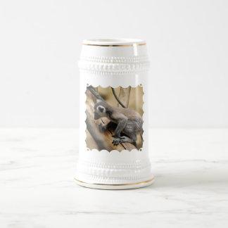Baby Lemur  Beer Stein Coffee Mugs