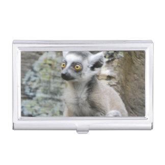 Baby Lemur Business Card Case
