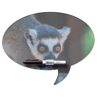 Baby Lemur Dry Erase Whiteboard